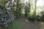 Murets du chemin de la source du Rouquet