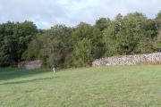 Mur cayrou de la Croix d'Alon